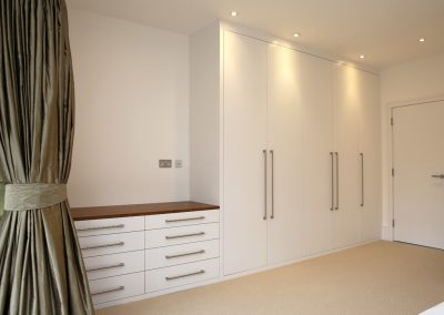 1 Bespoke Built In Fitted Wardrobe White Chest Drawers Modern with Drawers For Fitted Wardrobes